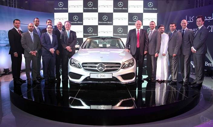 Organizing the press conference and the ceremony of Mercedes Egypt